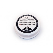 28 Gauge Kanthal A1 Resistance Wire 30 Feet