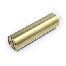Fat Daddy Vapes Battery Tube Assembly - 18650 Brass
