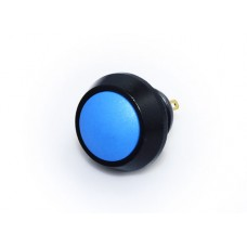 12mm Push Button Switch - Black & Blue