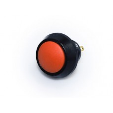 12mm Push Button Switch - Black & Red