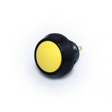 12mm Push Button Switch - Black & Yellow