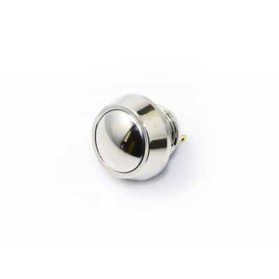 12mm Push Button Switch - Nickel Plated