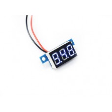 "0.36"" LED Display DC Voltmeter - Blue"