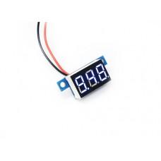 """0.36"""" LED Display DC Voltmeter - Blue"""