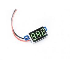 "0.36"" LED Display DC Voltmeter - Green"