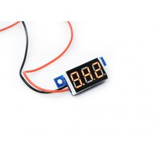 "0.36"" LED Display DC Voltmeter - Red"
