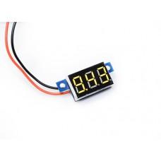 "0.36"" LED Display DC Voltmeter - Yellow"